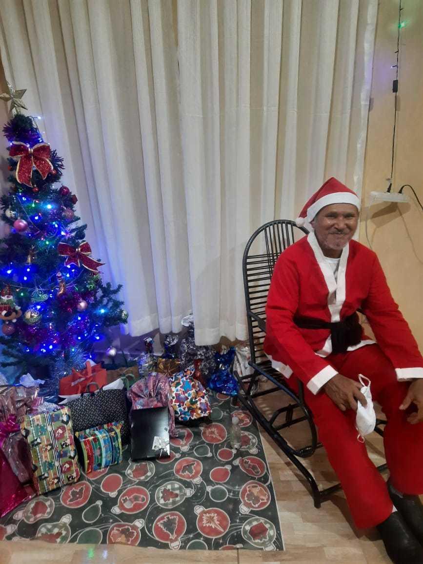 Vestido de Papai Noel