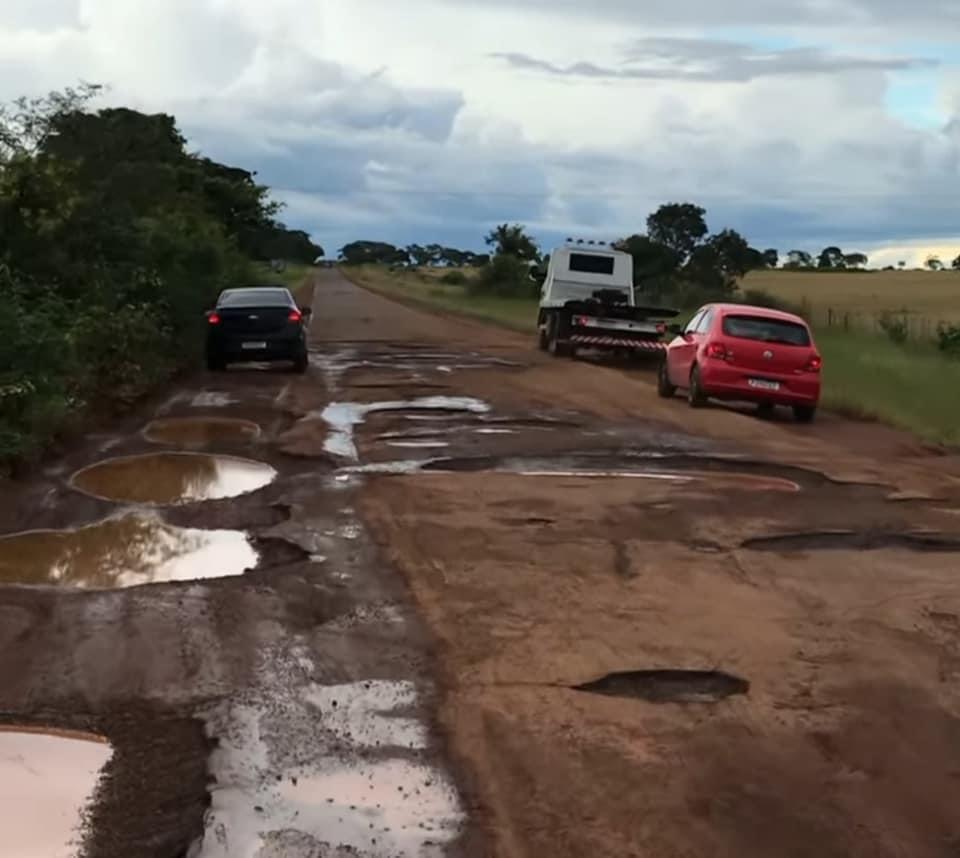 PI-115, que liga Campo Maior a Castelo do Piauí