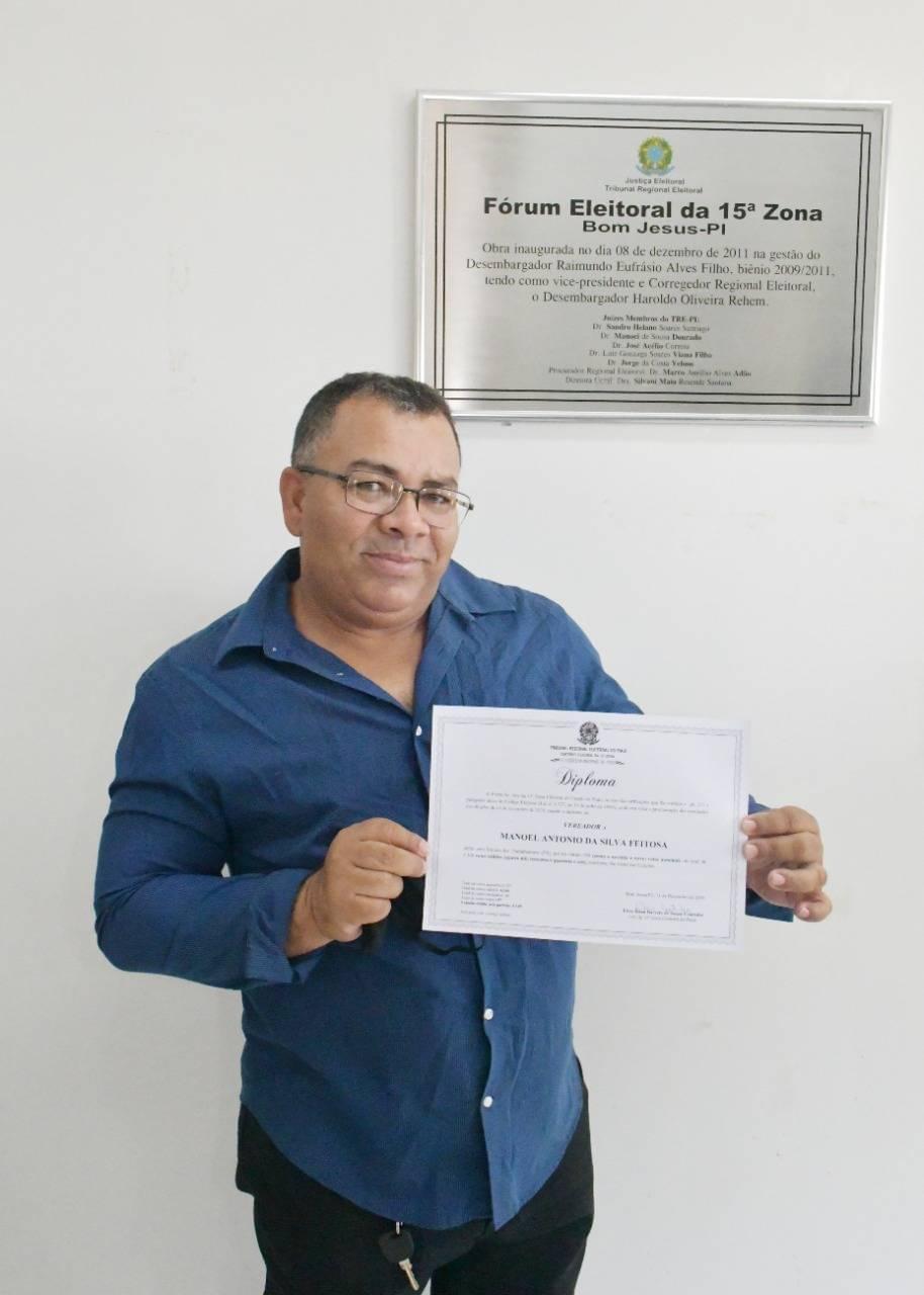 Vereador Manoel Potonho