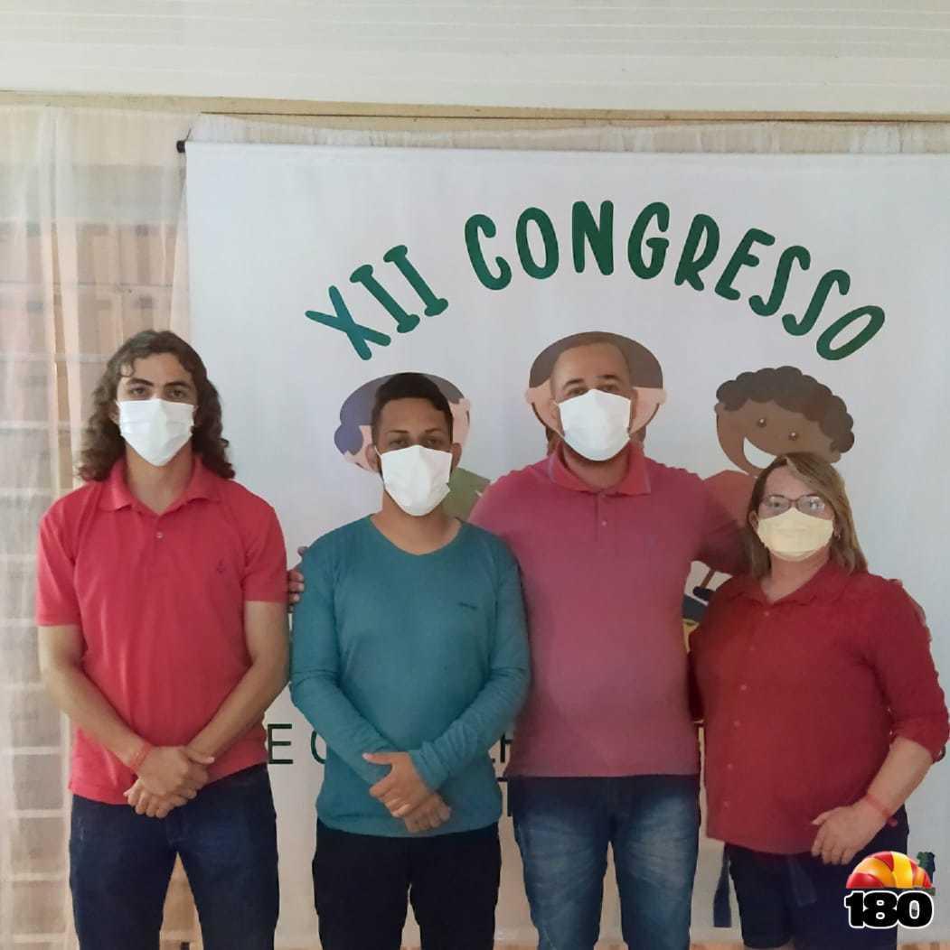 Membros do Conselho Tutelar / Secretária da ACONTEPI: Medianeira Alves