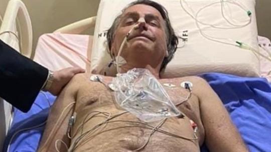 Foto do presidente Jair Bolsonaro divulgada nesta quarta-feira (14) em rede social verificada