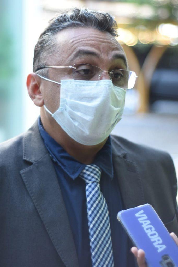_Presidente da CPI, vereador Dudu (Imagem: CMT)