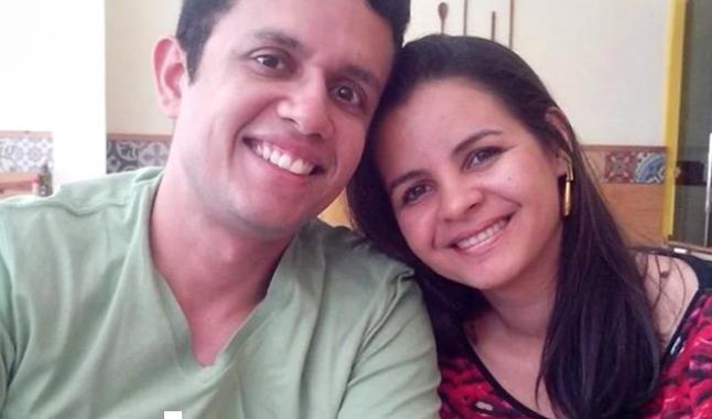 José Geovane e sua esposa
