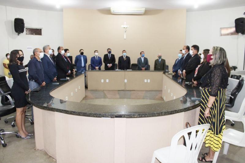 O evento contou com a participação de vereadores e de representantes do Conselho Regional de Administração do Estado do Piauí