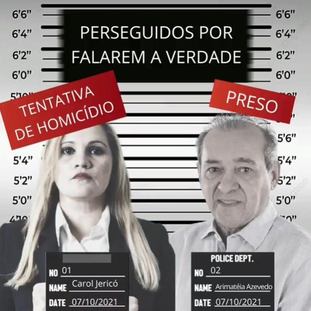 Reprodução Facebook Carol Jericó