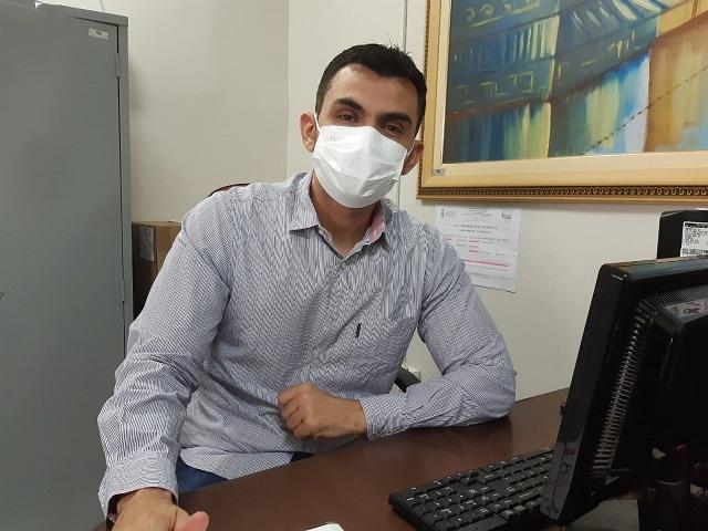 Coordenador do CTA, Fabio Bernardes