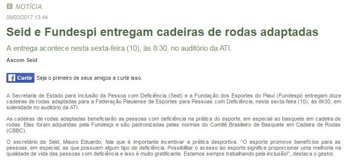FUNDESPI FOI DESTAQUE NA GESTÃO DE VICENTE SOBRINHO  3a591b9d7df6f