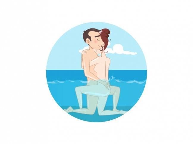 Posições sexuais no banheiro - 8
