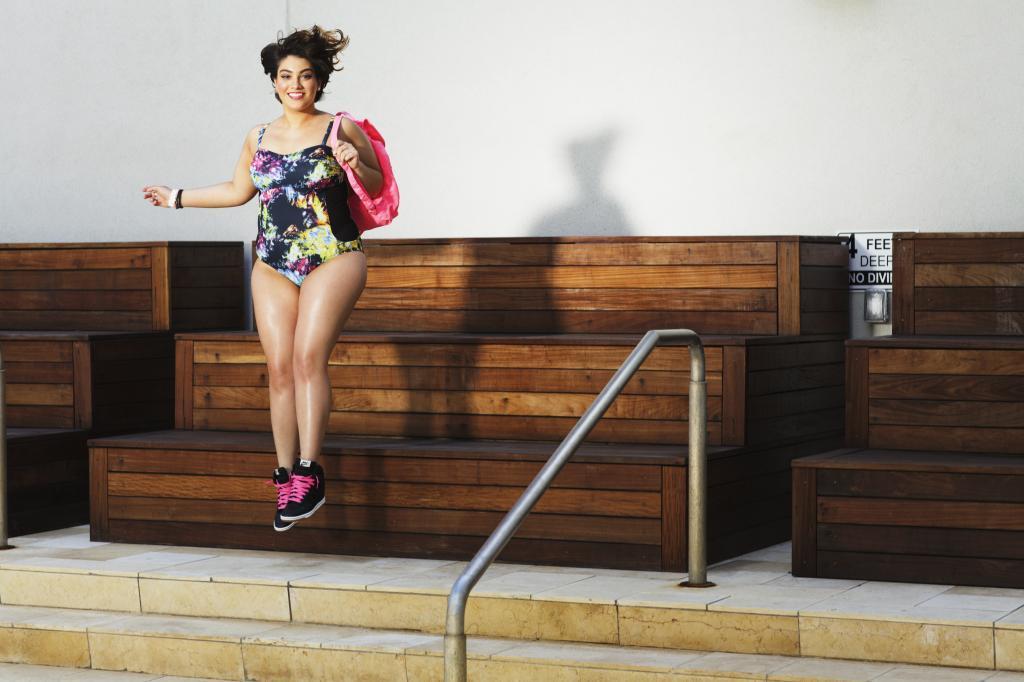 ac1db9722 Biquínis plus size da Gabi Gregg em parceria com a Suimsuits For All