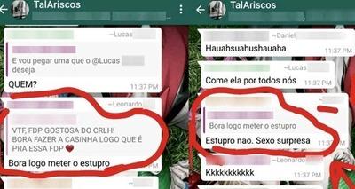 Thumb supostos alunos da universidade federal rural da amazonia fazem apologia ao estupro