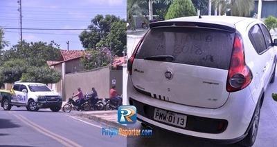 Thumb em piripiri empresario sofre sequestro relampago bandidos deixam carro roubado 188