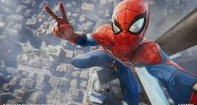 Thumb spider man game