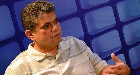 _ Deputado Estadual Fábio Xavier, alvo de investigação (Foto: 180graus.com)