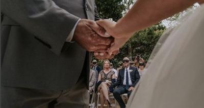 Thumb noiva vendada