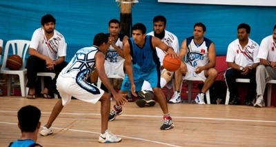 Thumb basquete jovens