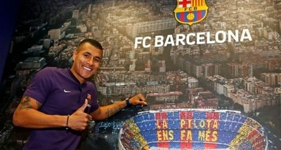 Thumb murillo ja foi apresentado ao barcelona divulgacao 1280