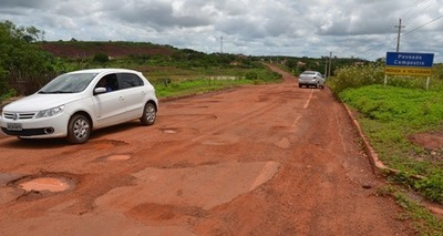 Thumb buracos na estrada de itainopolis