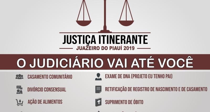 Justica Itinerante Calendario 2019 Campo Grande Ms.Justica Itinerante Estara Em Juazeiro Do Piaui Entre Os Dias