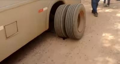 Thumb roda sacada transporte escolar
