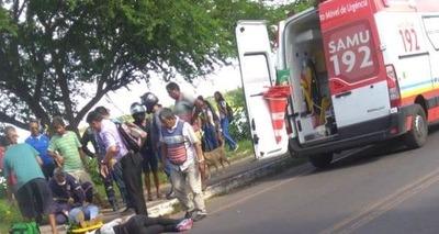 Thumb acidente na lagoa do bebedouro em parnaiba pi