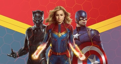 Thumb captain marvel and the avengers 1