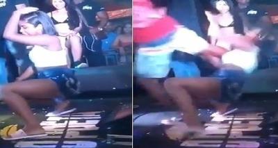 Thumb homem invade palco e chuta rosto de mulher que dan ava no show da banda o poeta  em pojuca