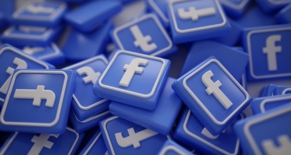 Medium pile of 3d facebook logos 1379 875