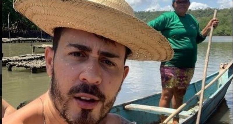 Carlinhos Maia é vaiado durante show da banda Calcinha Preta em Aracaju