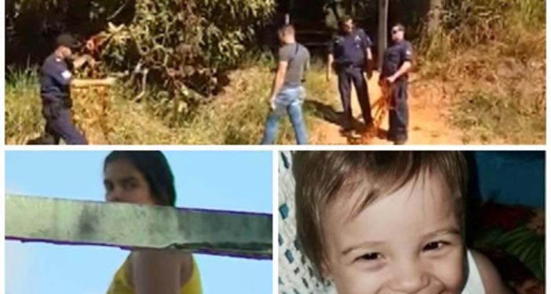 Após mãe confessar crime, corpo de bebê é encontrado soterrado