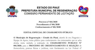 Thumb credenciamento 001.2020   mascaras p gina 01