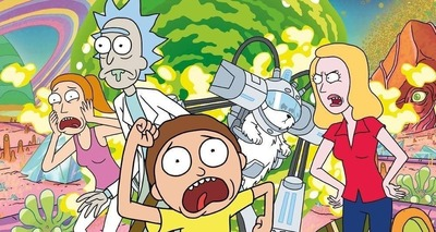 Thumb rick and morty group mini poster 1.133 e1563584108966