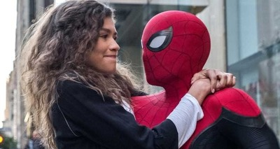 Thumb spider man far from home zendaya
