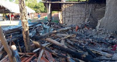 Thumb screenshot 2020 07 14 casa fica destru da ap s pegar fogo na zona rural de jos de freitas 2