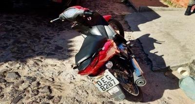 Thumb screenshot 2020 07 17 moto roubada abandonada por bandidos ap s persegui o policial