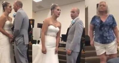 Thumb briga em casamento