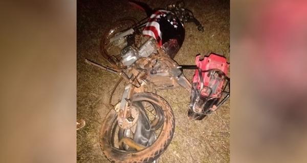 Medium moto acidente batalha