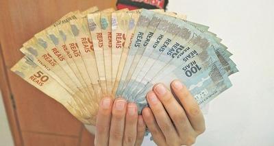 Thumb notas falsas dinheiro