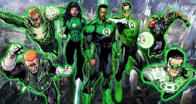 Thumb imagem dos herois lanternas verdes