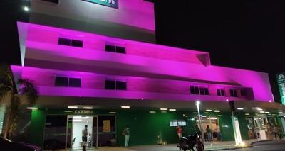 Thumb hospitais da unimed teresina iluminam suas fachadas com a cor rosa durante o m s de outubro1