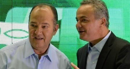 _Valter Alencar e pastor Everaldo, ambos alvos da operação da Polícia Federal Tris in Idem (Foto: Divulgação)