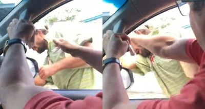 Thumb agress o pedinte