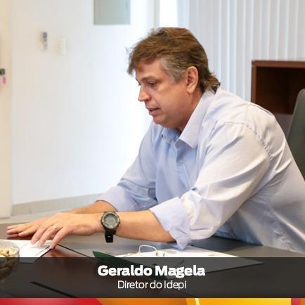 Gerado Magela, difetor-geral do IDEPI