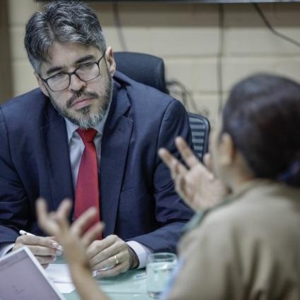 _Hélder Jacobina, ex-secretário de Educação. Quem diria, ele temia o empresário chefão da Topique Luiz Magno (Foto: Divulgação)