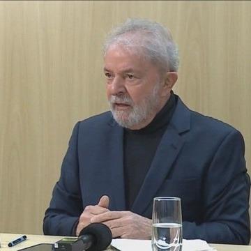Lula, durante entrevista à Folha (Foto: Reprodução)