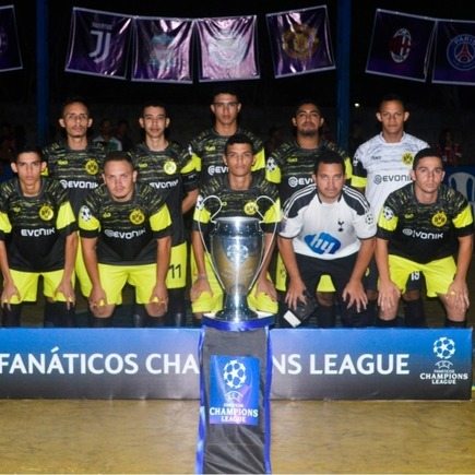 Medium times da copa fan ticos champions league 6