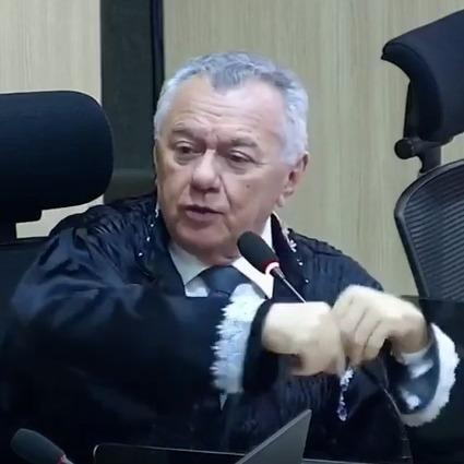_Kléber Eulálio, conselheiro do TCE (Foto: reprodução TV TCE)